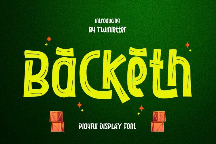Backeth example image 1