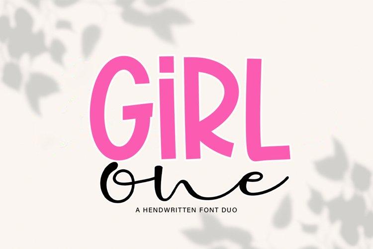 Girl One example image 1