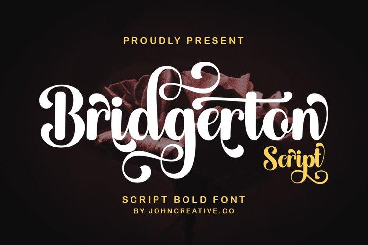 Bridgerton Script example image 1
