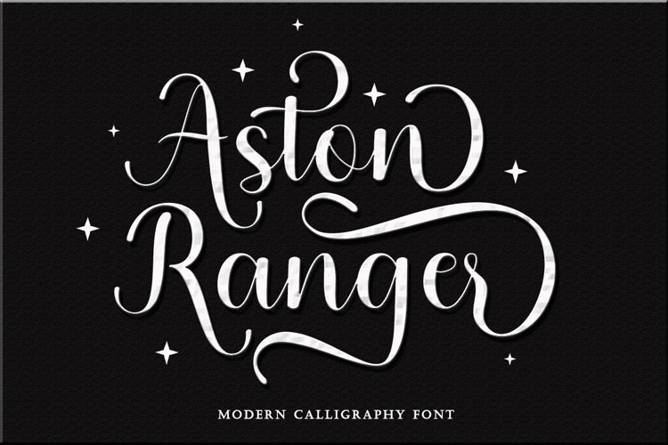 Aston Ranger - Modern Calligraphy example image 1
