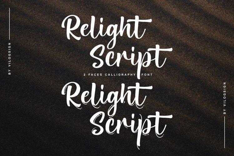 Relight Script example image 1