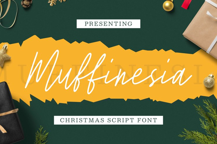 Muffinesia font example image 1