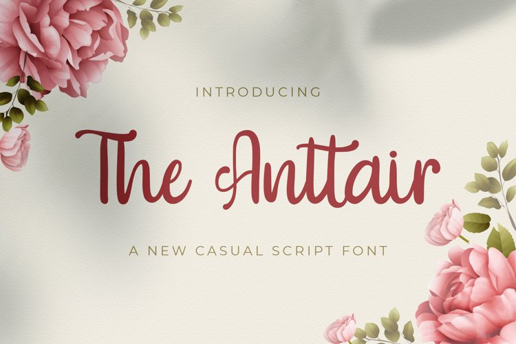 The Anttair - Handwritten Font example image 1