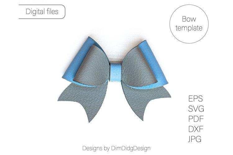Pinch bow template SVG Pinch bow svg Hair bow PDF Hair bow