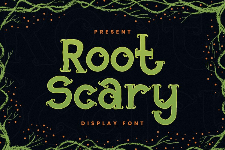 Root Scary Font example image 1