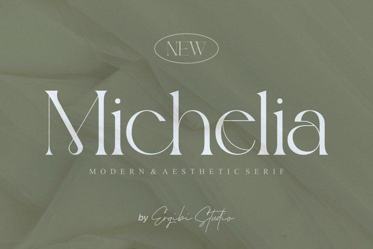 Michelia - Modern & Aesthetic example image 1