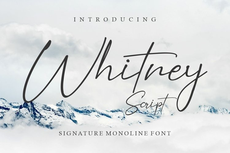 Whitney Script