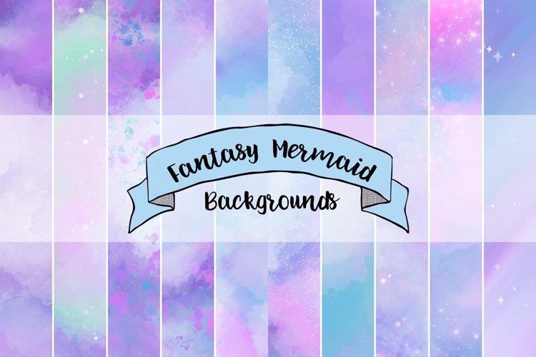 Fantasy Mermiad Backgrounds
