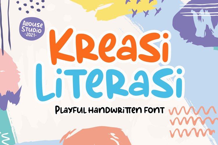 Kreasi Literasi example image 1