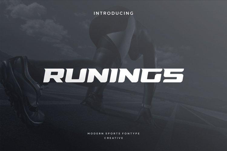 Runings example image 1