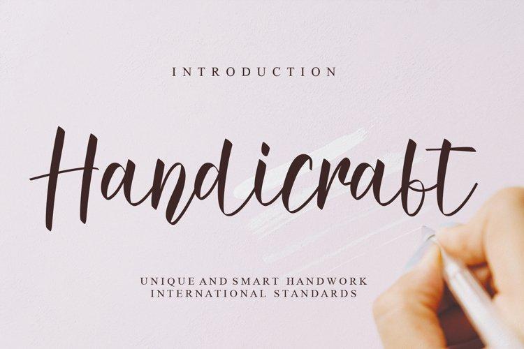 Handicraft example image 1