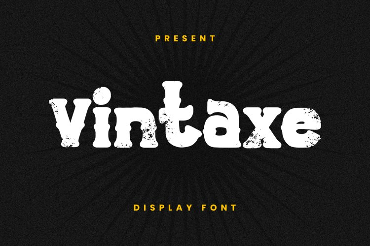 Vintaxe Font example image 1