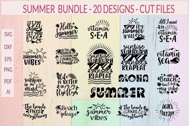 Summer SVG, Summer Bundle, Beach SVG, Summer SVG bundle