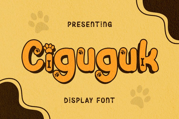 Ciguguk Font example image 1