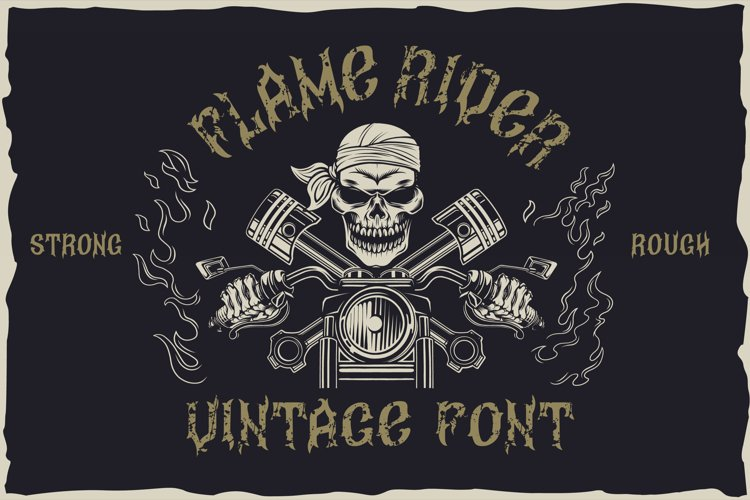 Flame rider example image 1