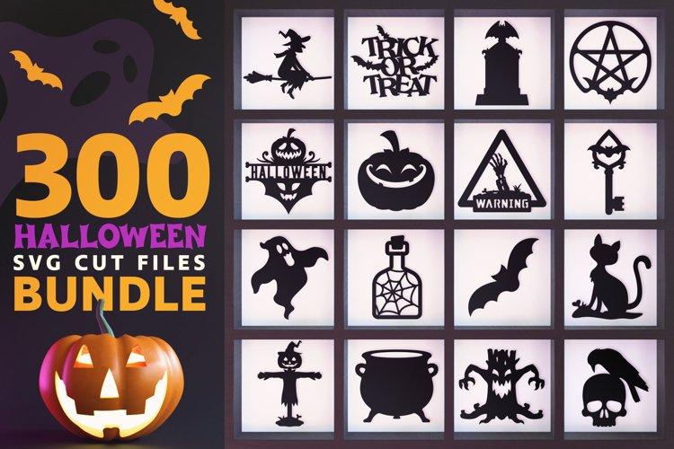 300 Halloween SVG Cut Files Bundle example image 1