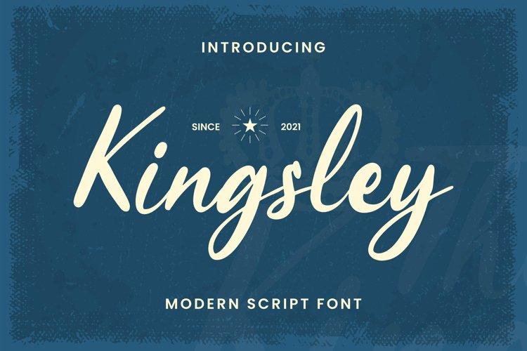 Kingsley Font example image 1