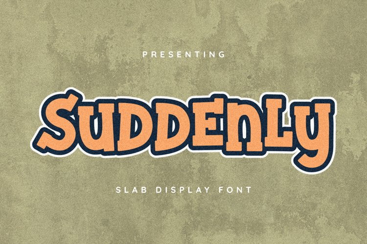 Suddenly Font example image 1