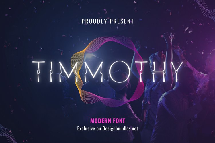 Timmothy Font example image 1