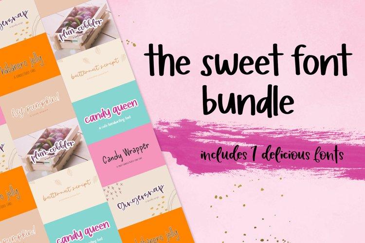 The Sweet Font Bundle example image 1