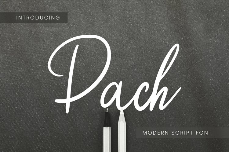Pach Font example image 1