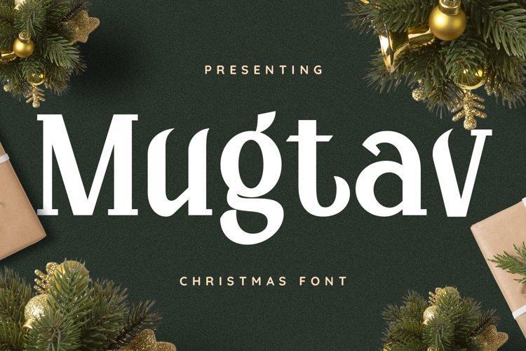 Mugtav Font example image 1