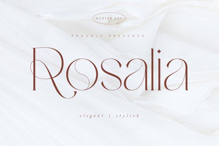 Rosalia | Modern Stylish example image 1