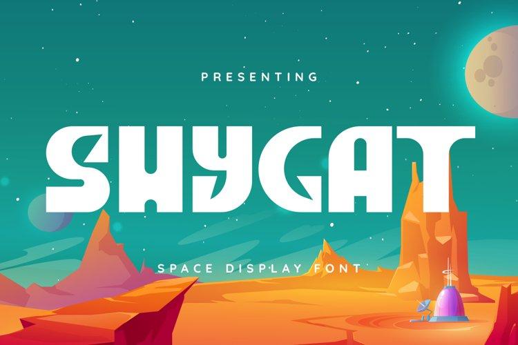Shycat Font example image 1