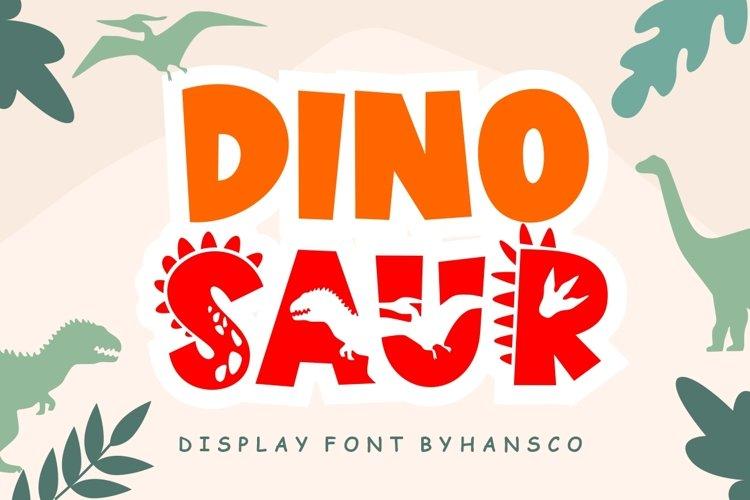 Dinosaur example image 1