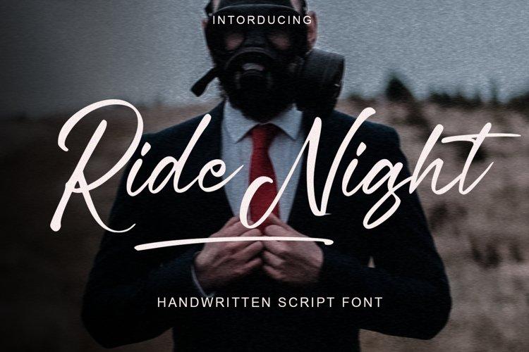 Ride Night example image 1