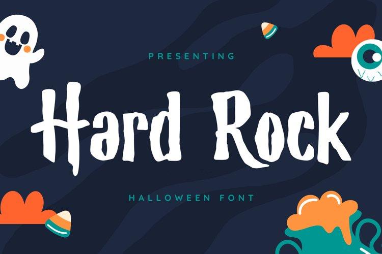 HardRock Font example image 1