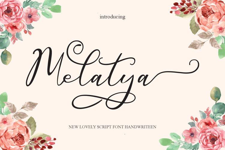 Melatya example image 1
