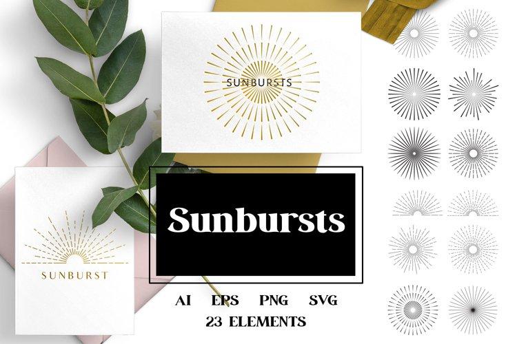Sunbursts example image 1
