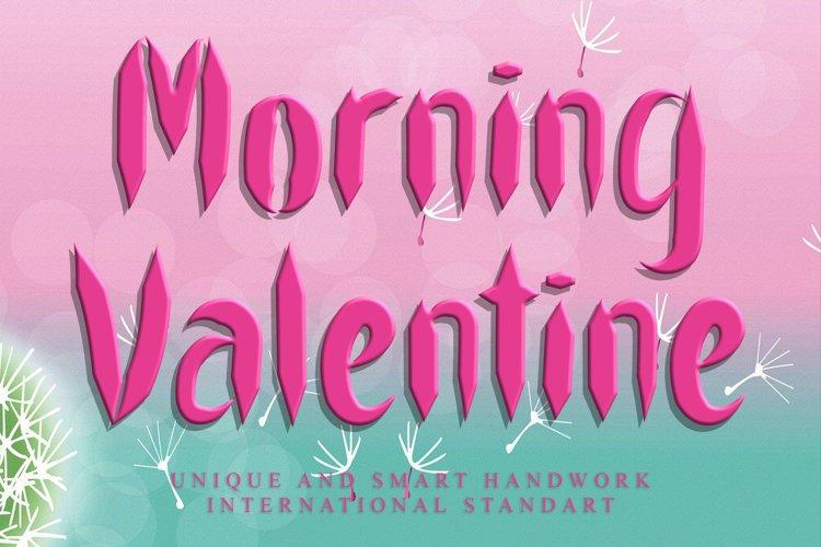 Morning Valentine example image 1