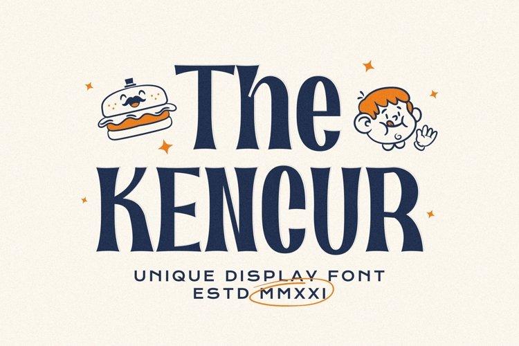Kencur Font example image 1