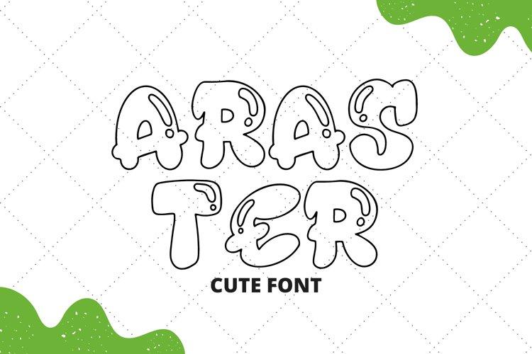 Araster Font example image 1