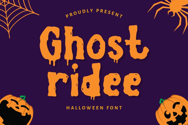 Ghostridee Font example image 1