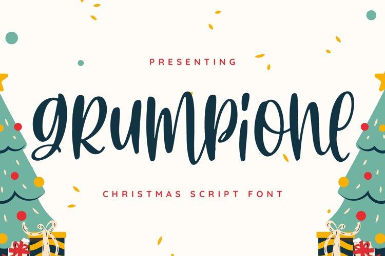 GrumPione Font example image 1
