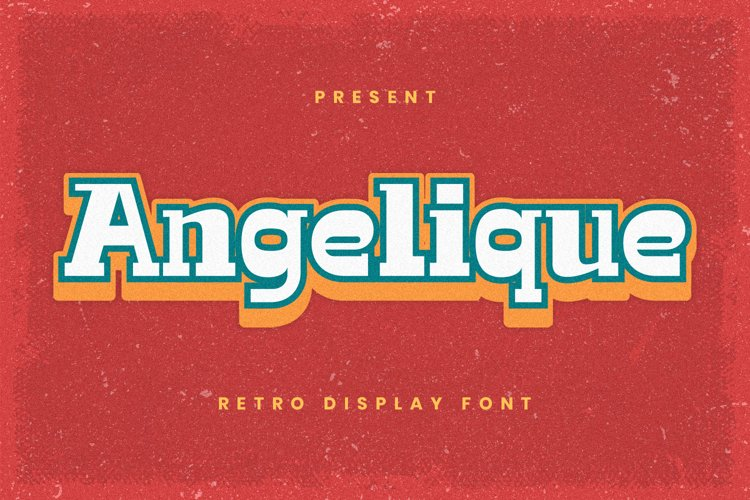 Angelique Font example image 1