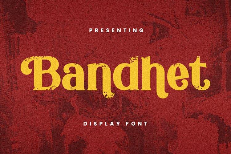 Bandhet Font example image 1