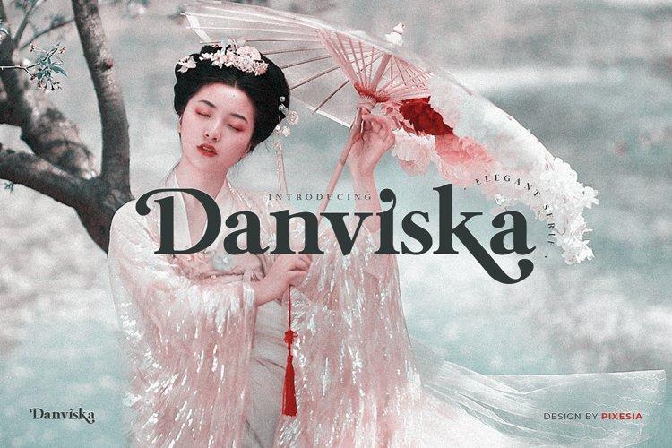 Danviska - An Elegant Modern Serif Font example image 1