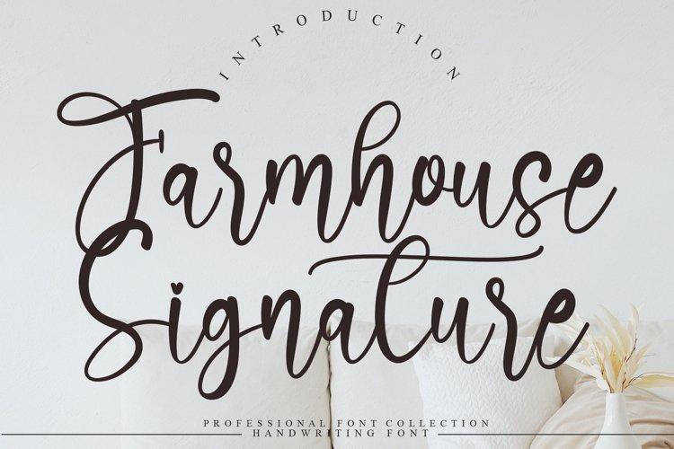 Farmhouse Signature example image 1