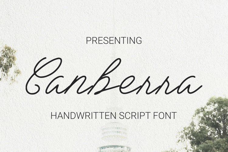 Canberra Font example image 1