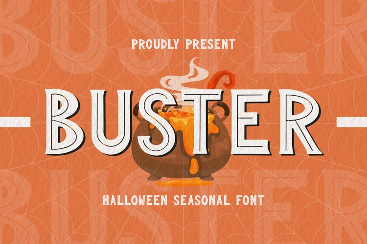 BUSTER Font example image 1