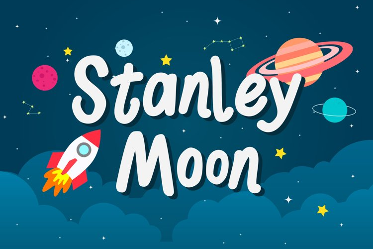 Stanley Moon - Playful Display Font example image 1