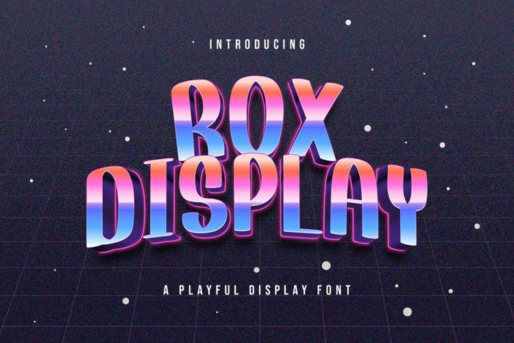 Rox Display - Playful Display Font example image 1