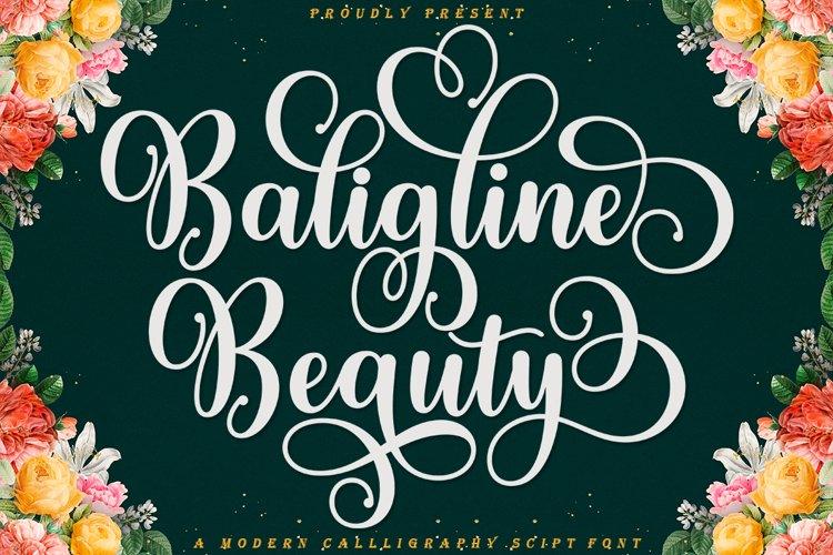 Baligline Beauty example image 1