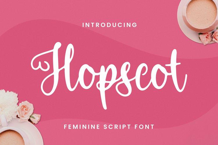 Hopscot Font example image 1