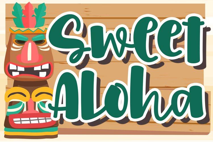 Sweet Aloha