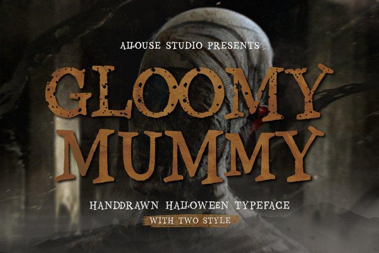 Gloomy Mummy Font example image 1